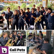 Jazz Combo entertains at the Grand Opening of CaliPets
